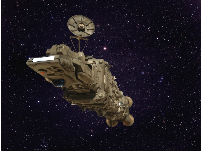 Spaceship Compositing
