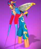 Butterfly Stilt Costume