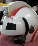 "Custom Flight Helmet for TV show ""Bucket & Skinner"""