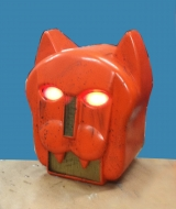 Cat Robot Head
