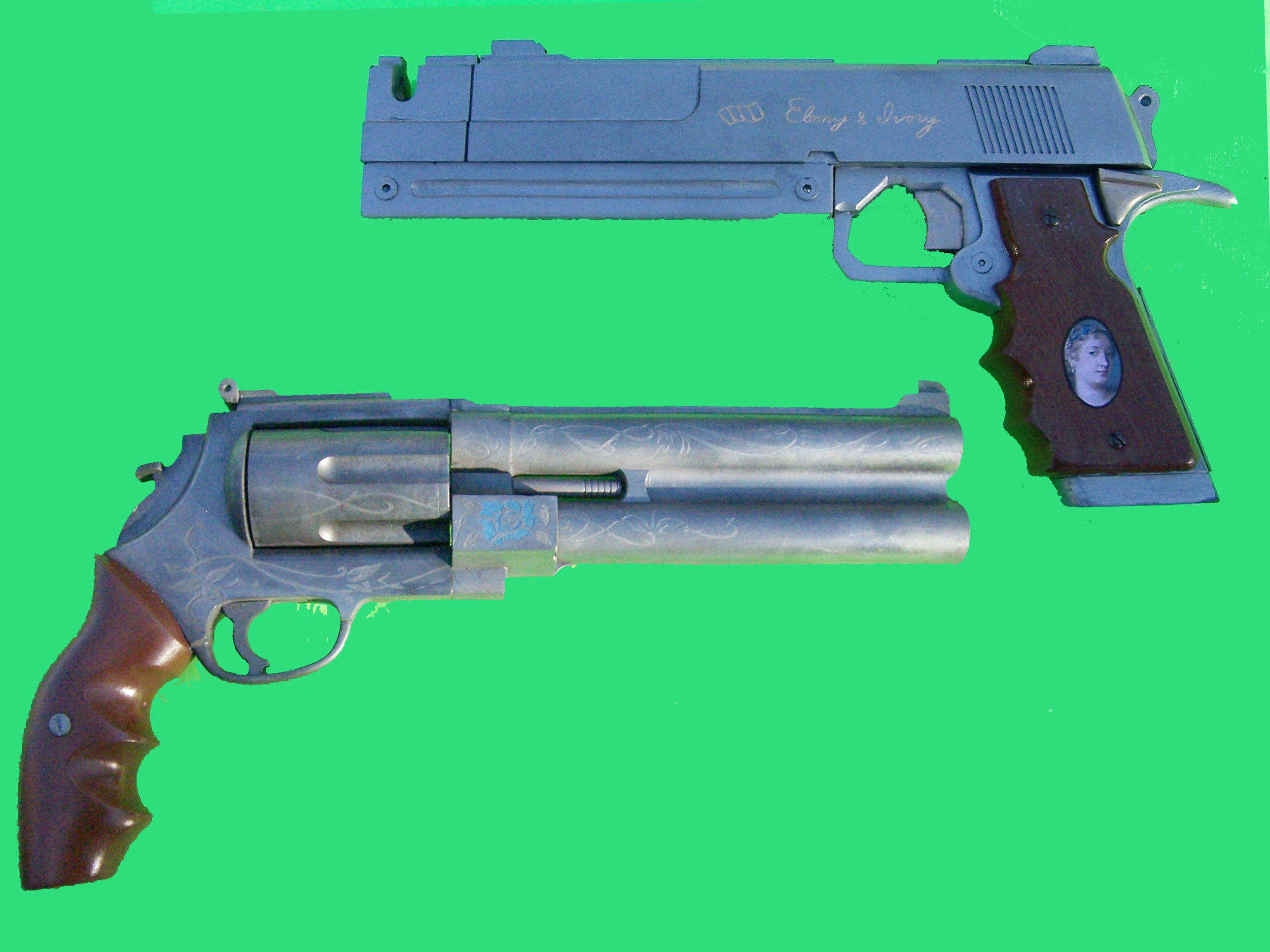 Gun: Blue Rose and Eboney