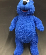 Blue Bear puppet