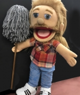 Joe Dirt Puppet
