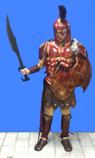 Ares God of War Celebrity Halloween costume