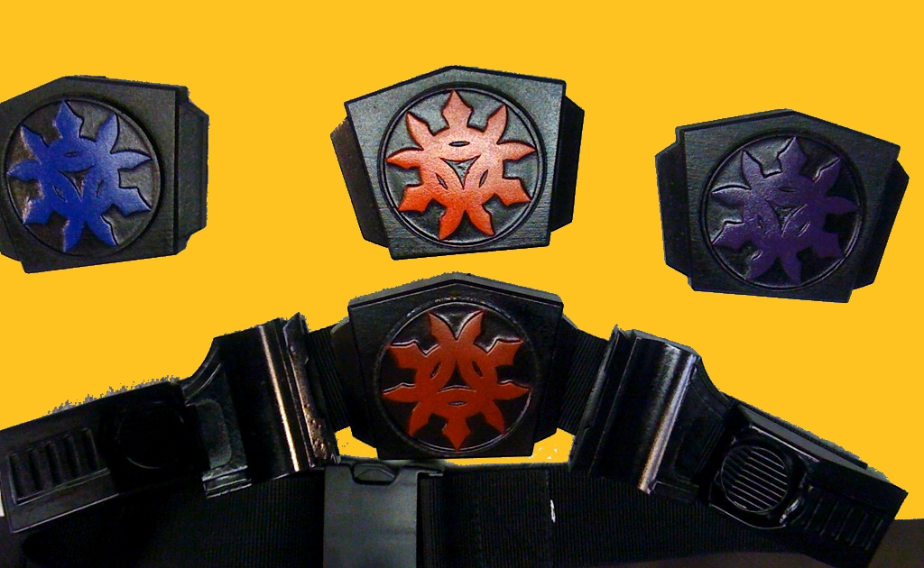 Supah Ninjas Belt Buckle