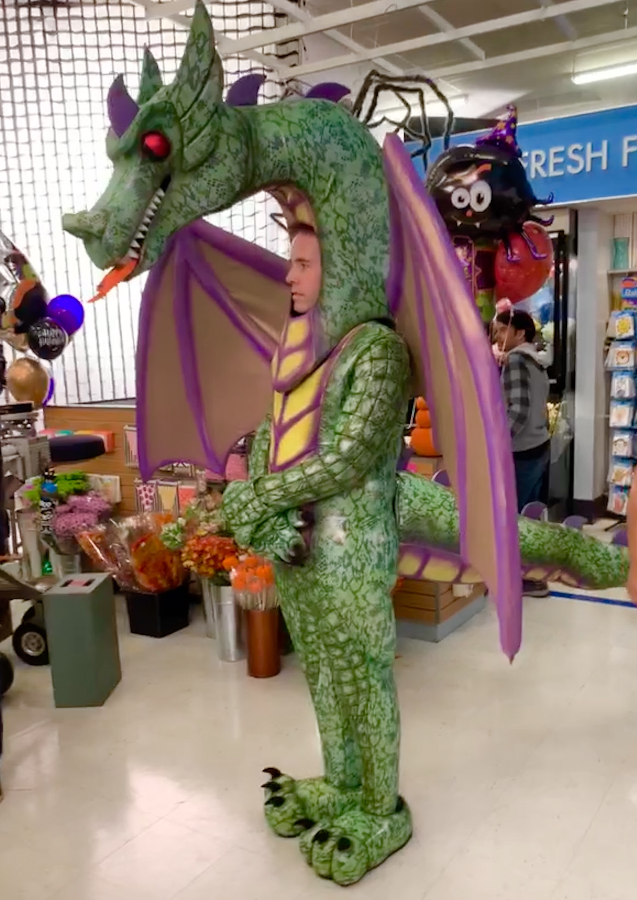 Dragon Costume Superstor TV Series