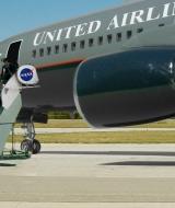 Composite Miniature Green Screen Airliner