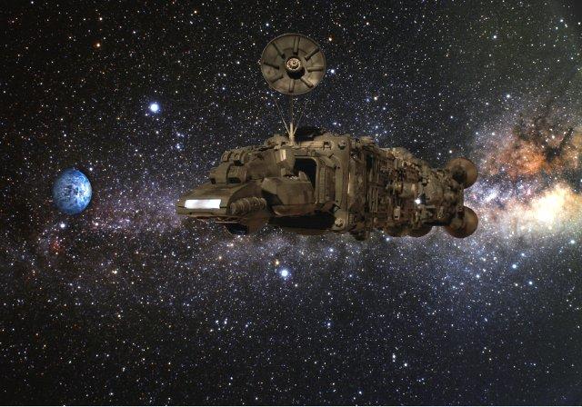 Spaceship Compositing