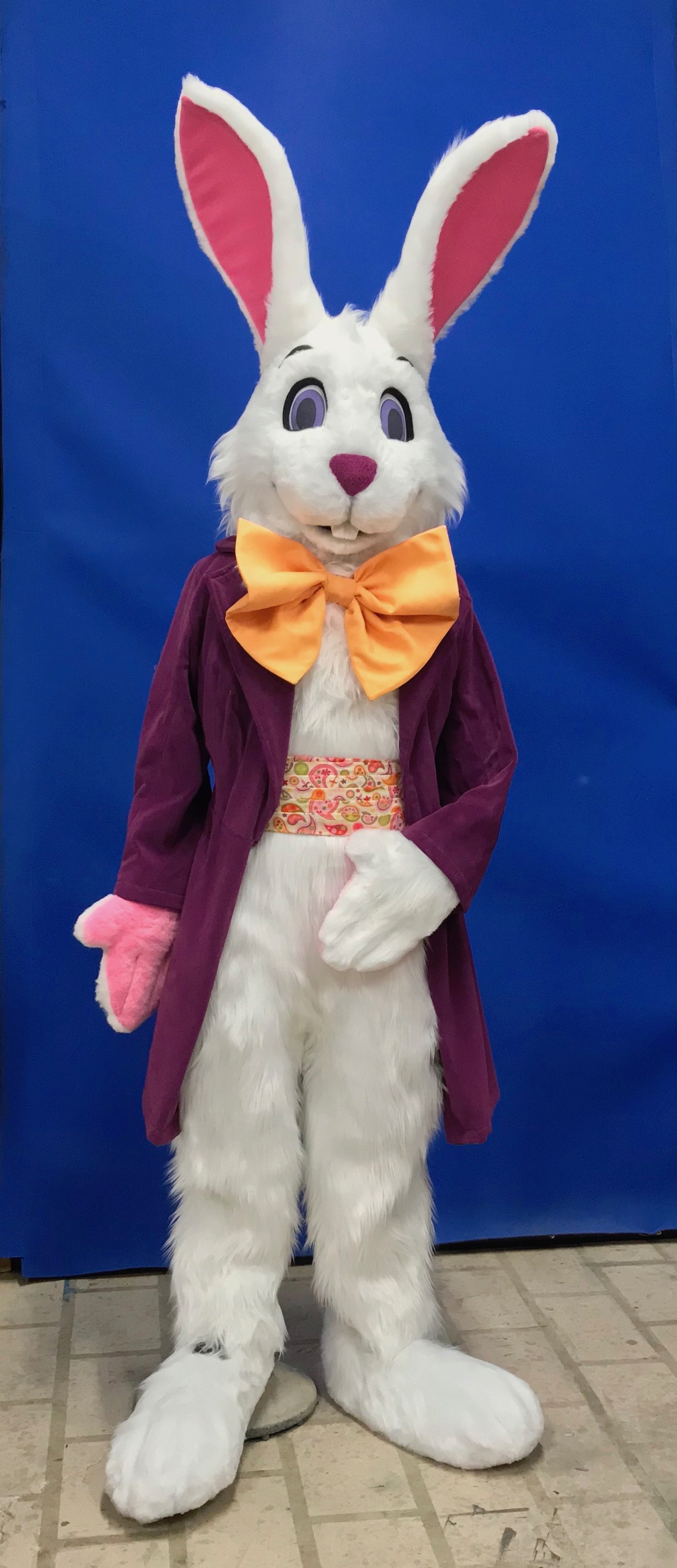 White Easter Bunny
