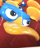 Perry Platypus Mask