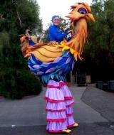 Bird Stilt Costume