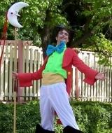 Circus Ringmaster Stilt Costume