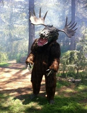 Camp Fred-Croca-Beara-Moose costume