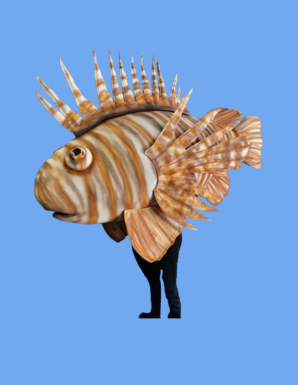 Lion Fish Costume