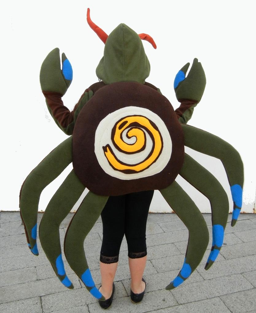 Crab Costume (back)