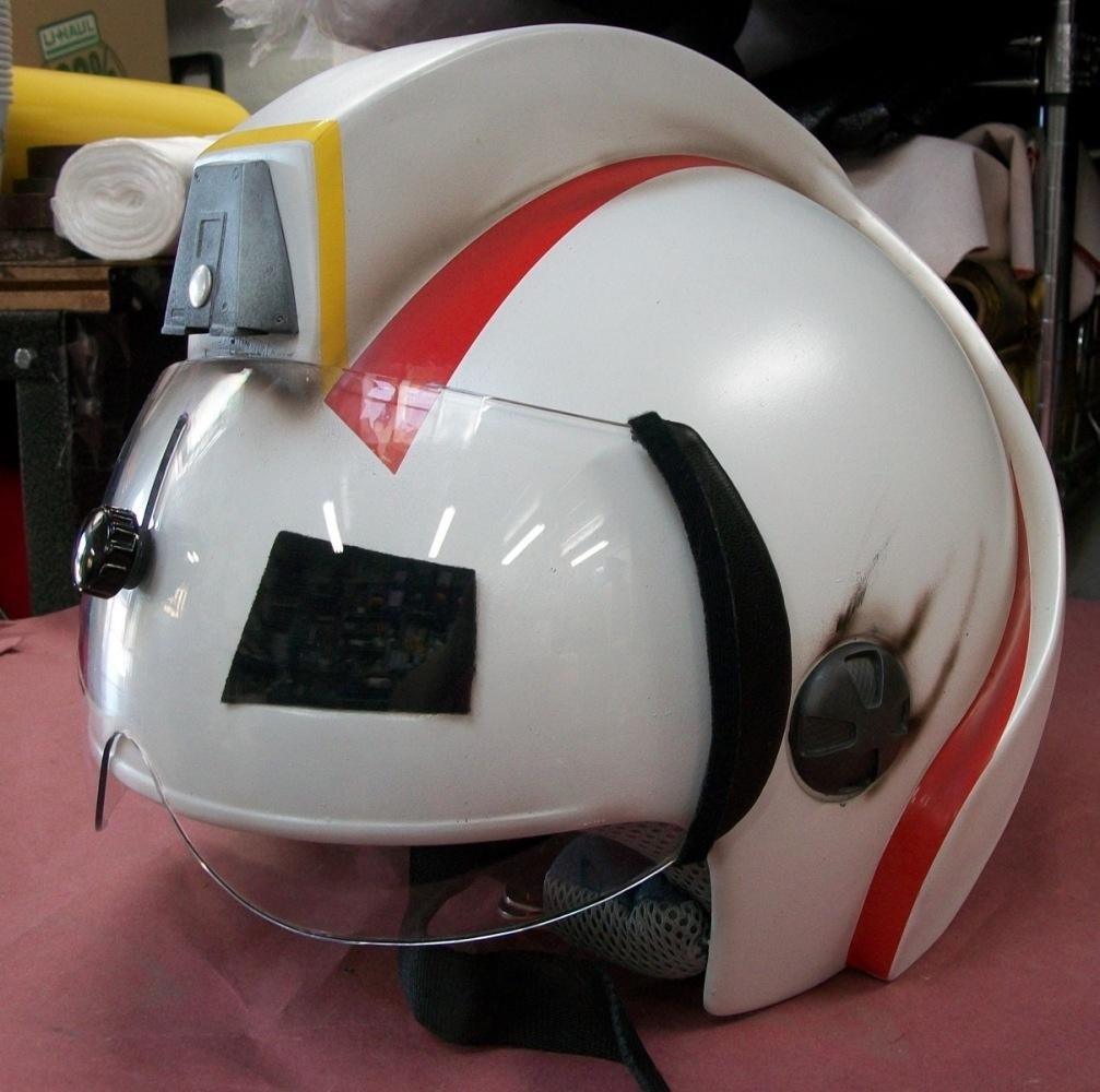 """Custom Flight Helmet for TV show """"Bucket & Skinner"""""""