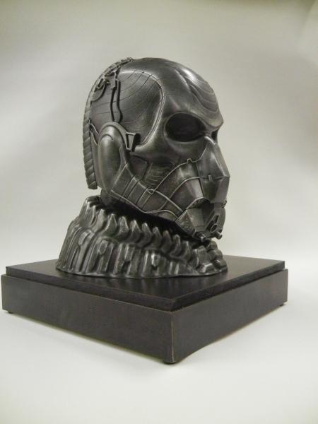 """General Zod Helmet """"Man of Steel"""" Display"""