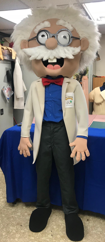 Dr Ice Cream Mascot