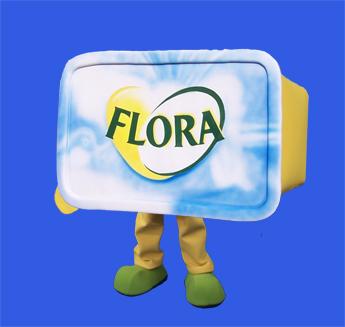 Flora Butter costume