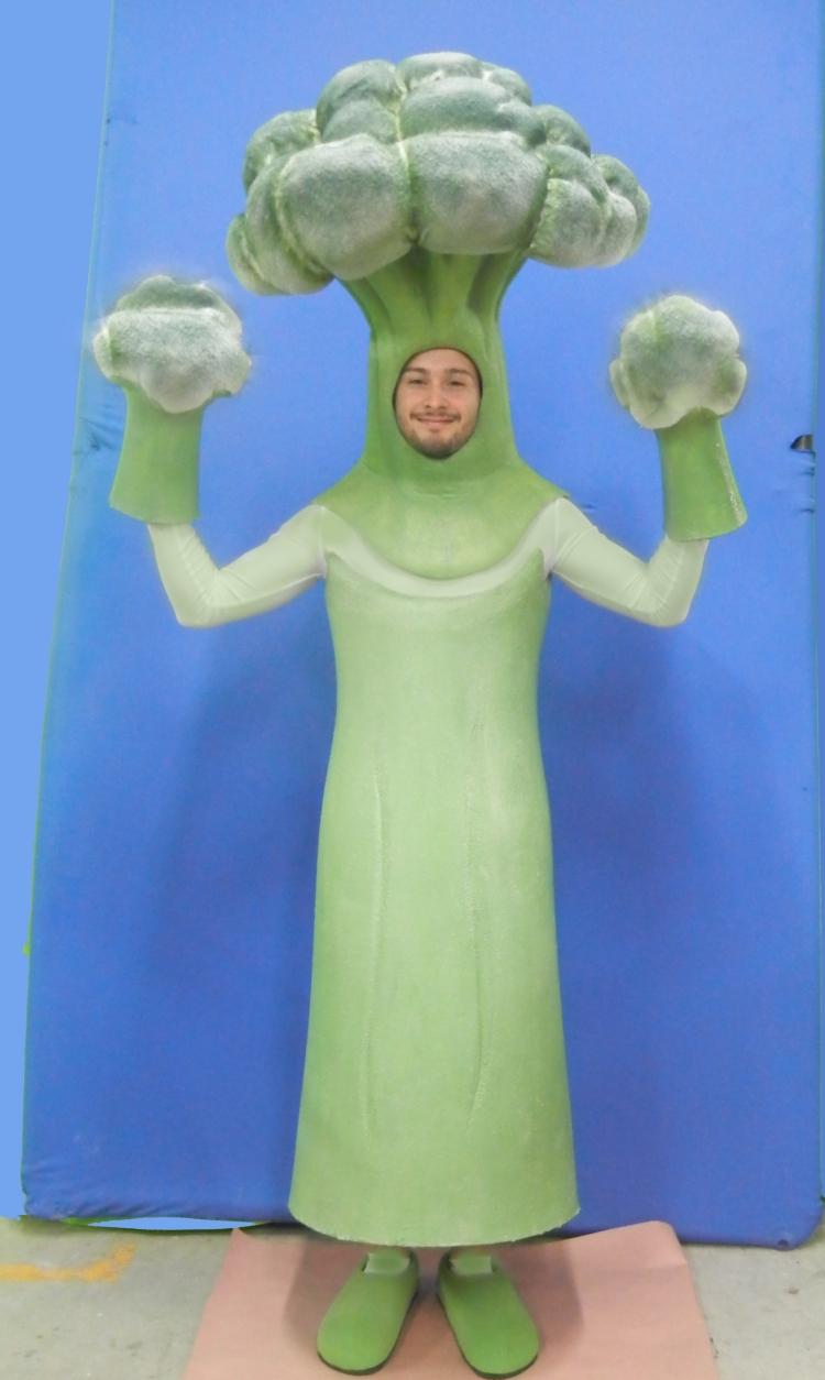 Broccoli Mascot