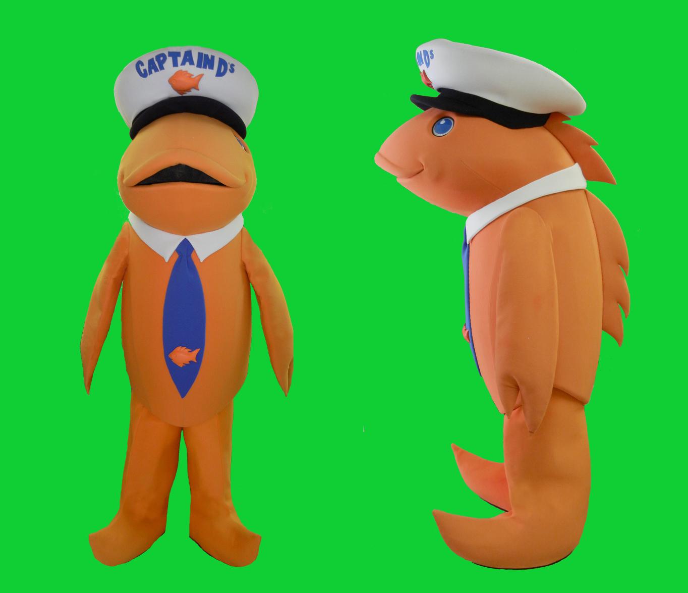 Captain D' FishCostume