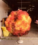 Explosion costume