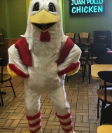 Juan Pollo Chicken Mascot
