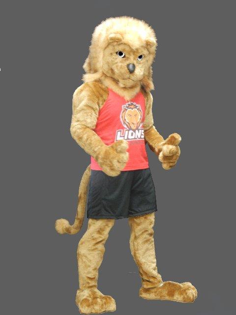 Lion Mascot-