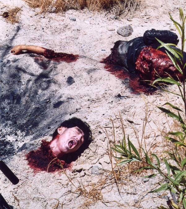 Dead Bandit, explosion casualty.