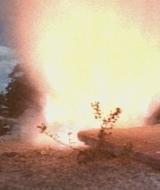 Miniature explosion