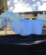 Unicorn Riding Prop
