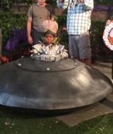 UFO Spaceship Haunted Hathaways