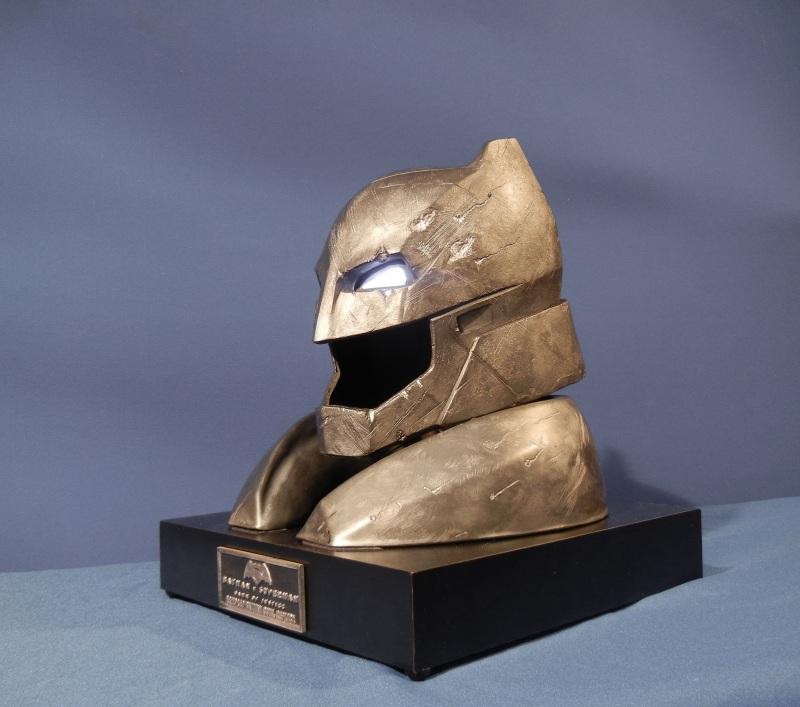 Batman V Superman Batman Helmet Display