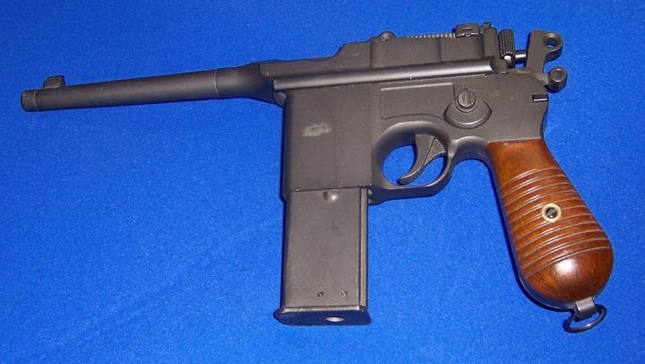 Gun: Broomhandlemauser