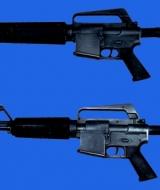 Gun: M16 and M4