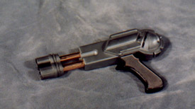 Gun: laser