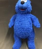 Blue Bear puppet