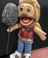 Joe Dirt Puppet