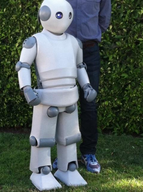 Robot for TV show Bones
