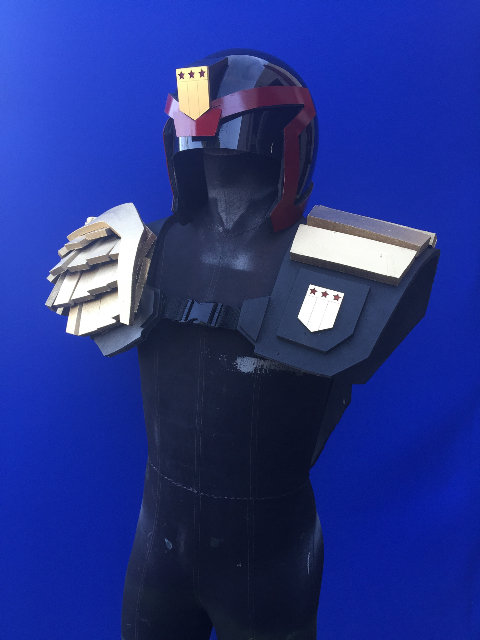 Judge Dredd Armor