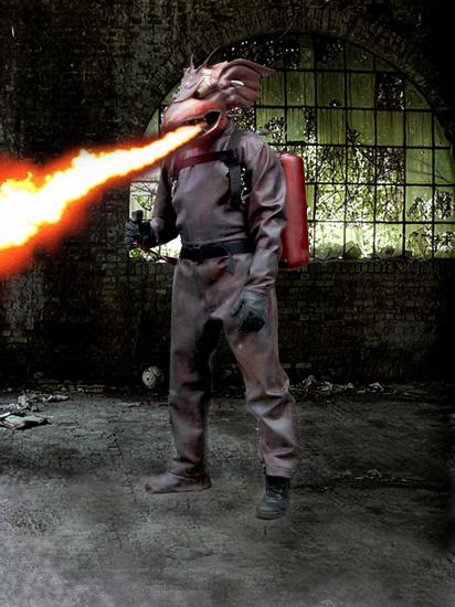 Komodo Supah Ninjas Villain