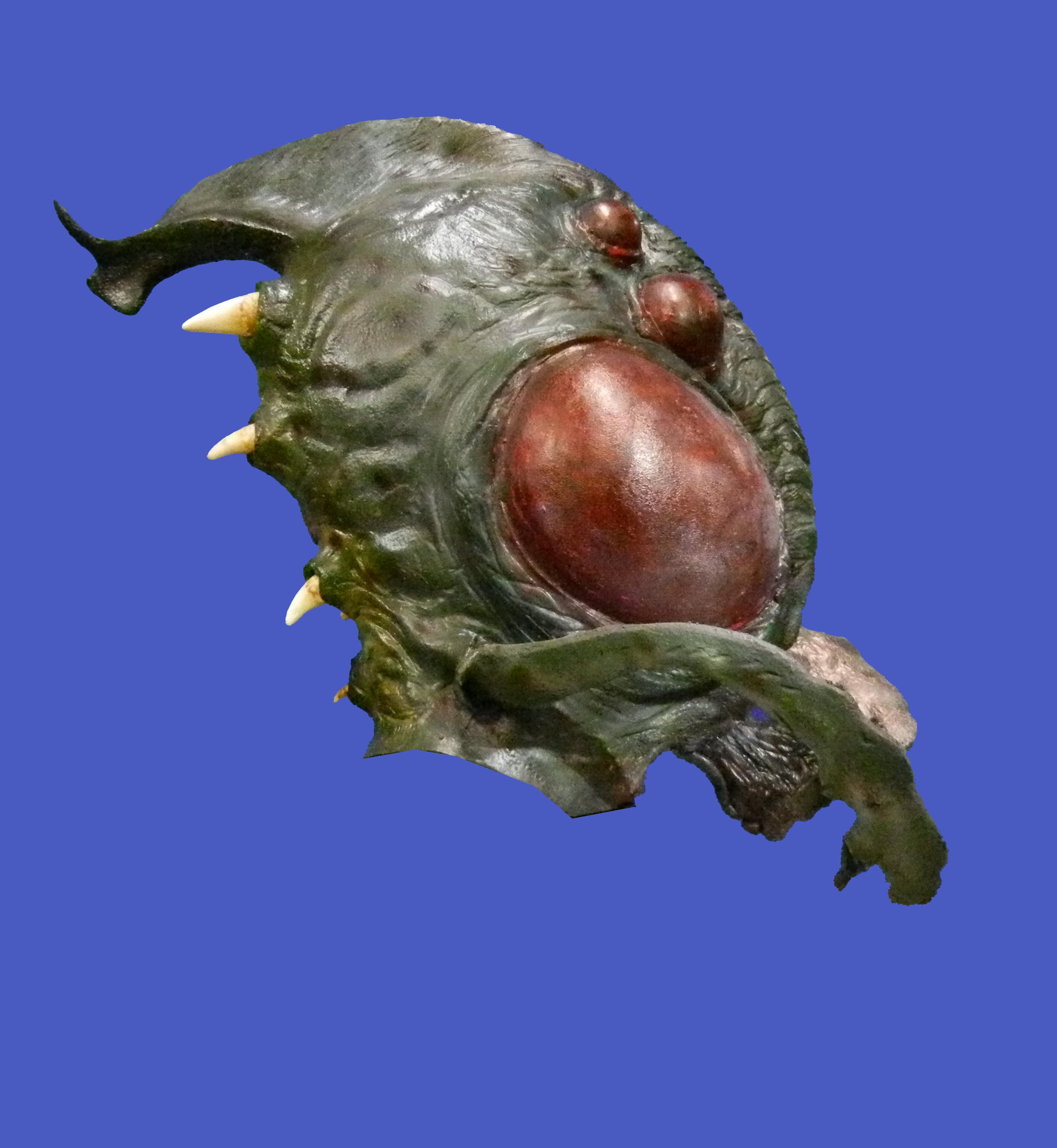 Alien Bug Head
