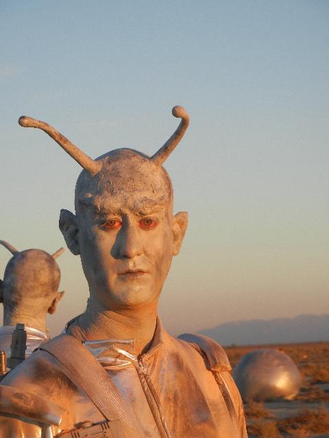 Martian Alien Man