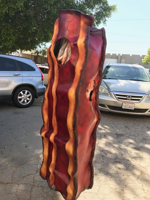 Bacon mascot