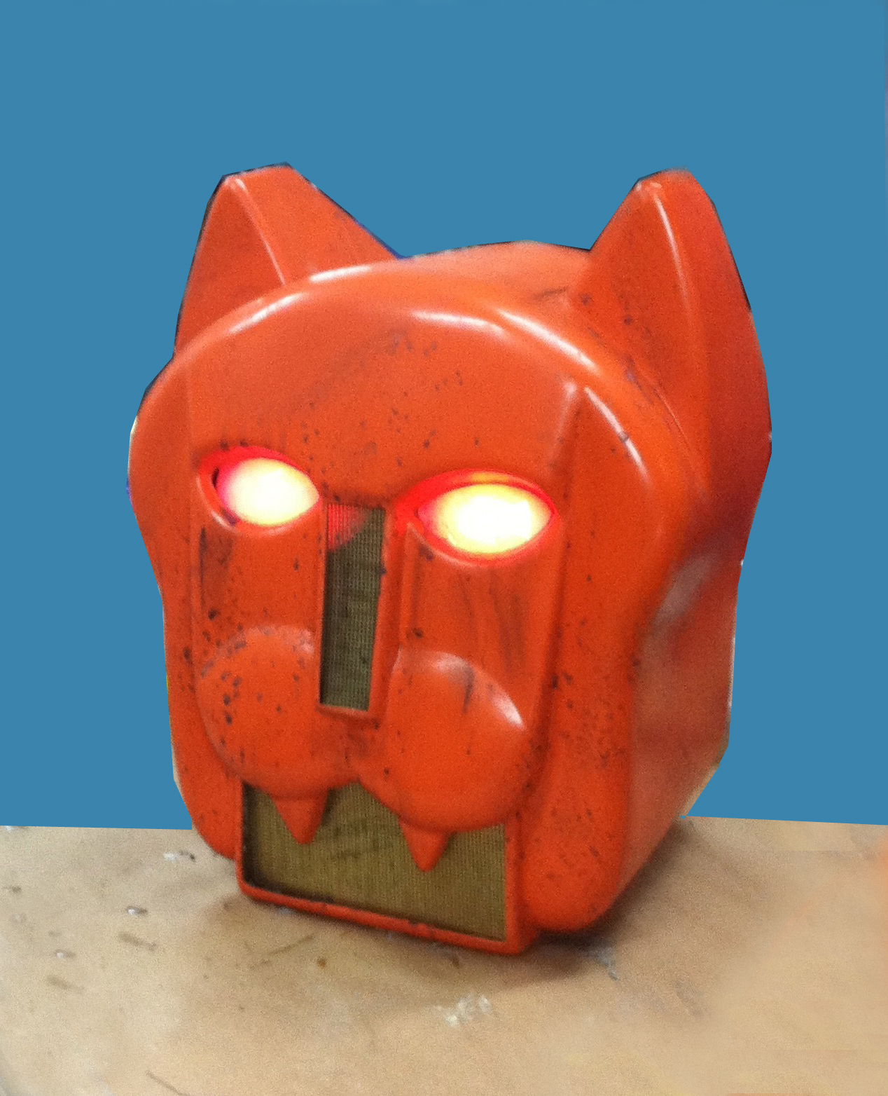 Cat Robot Head