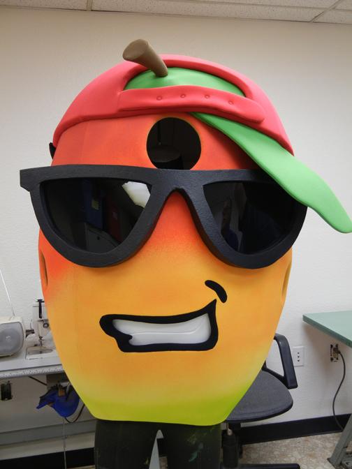 Mango Mascot ccostume