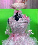Bad Grampa Movie Pink dress