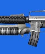 Gun: m16m203