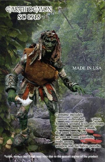 Earth Demon Costume