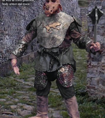 Gate Keeper Creature - monster costume